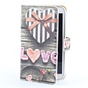 Heart Gift Box Style PU Leather Case with Card Slot and Stand for Samsung Galaxy Note II N7100