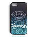 Elonbo J2B40 Diamond Design Hard Back Case Cover for iPhone 4/4S