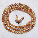 Buddhist 80cm Womens Orange RAJA KAYU Strand Bracelet(1 Pc)