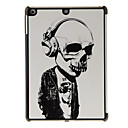 Mr.Skull with Earphone Pattern PC Hard Case for iPad Air