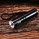 M8065 Adjustable Focus 3-Mode 1xCree XP-E R2 LED Flashlights(1x14500,800LM,Black)