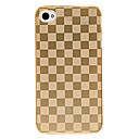 Grid Pattern Back Case for iPhone 4/4S