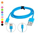 Lightning 8-Pin to USB Colorful Charging Sync Data Cable for iPhone 6 iPhone 6 Plus iPhone 5S/5C/5 (100cm)