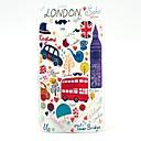 Car Bus London Big Ben Cartoon Pattern Plastic Hard Case for Motorala Moto G