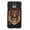 Lion Head 3D Changing Pattern Protective Plastic Hard Back Case Cover for Samsung Galaxy S5 I9600