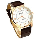 Mens Watch Dress Watch Ultrathin Dial Leather Band