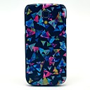 Colourful Triangle Paper Pattern Hard Back Cover Case for Samsung Galaxy S4 Mini I9190