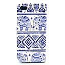 Elephant Tribal Carpet Design Full Body Case with Stand and Card Slot for iPhone 5/5S