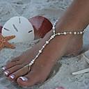 Vintage Handmade Pearl Fashion Barefoot Sandal(1 Pc)
