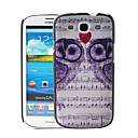 Owls on Sheet Music Pattern Plastic Hard Protective Case for Samsung Galaxy S3 i9300