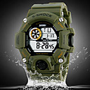 Mens Watch Military Sports Multi-Function LCD Water  And Shock Resistant