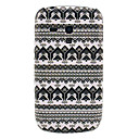 Snowflake Pattern Hard Back Cover Case for Samsung Galaxy S3 Mini I8190
