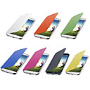 Solid Color Flip Cover Case for Samsung Galaxy S4 Mini I9190 (Assorted Colors)