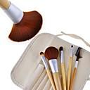 New 5 PCS Earth-Friendly Bamboo Elaborate Makeup Brush Sets 19080