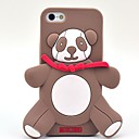 Lovely Panda Pattern Silicone Soft Case for iPhone 5/5S (Optional Colors)
