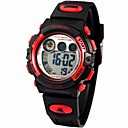 Time100 Childrens Multifunctional Waterproof Digital Dial PU Band Outdoor Sport Electronic Watch