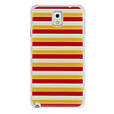 Three Colors Mixed Painting Pattern Plastic Hard Back Case Cover for Samsung Galaxy Note3 N9000