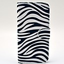 Fashionable Zebra Pattern PU Leather Full Body Case with Card Slot for HTC One 2 M8