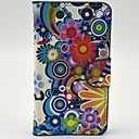 Vibrant Sunflowers Pattern PU Leather Case with Card Slot Wallet for Sony Xperia E1