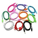 1M Micro USB Strong Braided Data Sync Charger Cable for Samsung Galaxy Tab  Phone