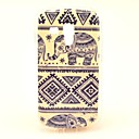 Elephant Tribal Carpet Pattern Soft Case for Samsung Galaxy S Duos 2 S7582