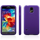 Touch Screens Double TPU Material Protective Sleeve for Samsung Galaxy S5 i9600