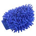 Double-Face élastique Chenille fibre Gants de lavage de voitures