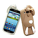 Solid Rabbit Silicone Case for Samsung S3 I9300 (Assorted Color)