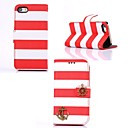 Elonbo Rainbow Strip Sea Rover Design Style Full Body Case Cover for iPhone 4/4S(Assorted Colors)