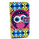 PU Leather Owl Pattern Case for Samsung Galaxy Style DUOS I8262D