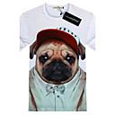 Mens Western All Match 3D Pattern T Shirt