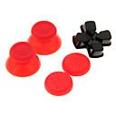 Replacement 3DRocker Cap  D-pad  Nonslip Silicone cap Set for PS4