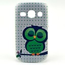 Sleeping Owl Cartoon Pattern Hard Case for Samsung Galaxy Fame S6810/S6818