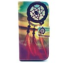 Foreign Dreams Design PU Full Body Case with Card Slot for iPhone 5/5S