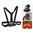 Adjustable Chest Mount Harness Shoulder Strap with Tripod Mount Adapter for Gopro Hero 3/ 2/ 1