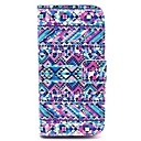 Complex Graphics Design PU Full Body Case with Card Slot for iPhone 5/5S