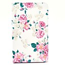 Rose Flower Pattern Full Body Case with Stand for Samsung Galaxy Tab Pro 8.4 T320