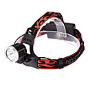 LETO N8 Rechargeable3-Mode 1xCree XM-L T6 Waterproof Headlamps(1or2x18650,2000LM,Black)