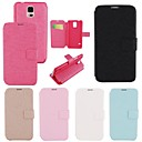 Elonbo Fashion Candy PU Leather Flip Stand Case for Samsung Galaxy S5 I9600 (Assorted Colors)