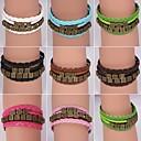 BaoGuangLeather Bracelets Multilayer Alloy Charms Handmade Bracelets