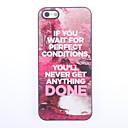 Just Do It Design Aluminium Hard Case for iPhone 5/5S