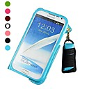 Lanyard Leather Pouch Card Case for Samsung Galaxy Note 2 N7100
