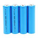 5000mAh 18650 Battery (4pcs)