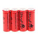 UItraFire TR 1800mAh 18500 Battery (4pcs)