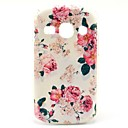 Rose Flower Pattern Hard Case for Samsung Galaxy Fame S6810/S6818