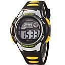 Children PU Strap LED Digital Multifunction Sports Wrist Watch 50m Waterproof (Assorted Colors)