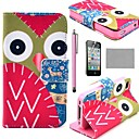 coco-fun-k2-colorful-owl-wallet-full-body-pu-leather-cases-with-stand-for-iphone-4s-included-film-stylus