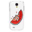 Cartoon Watermelon Pattern PC Back Case for Samsung S4/I9500