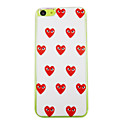 Beautiful Eyes of Love Pattern PC Back Case for iPhone 5C