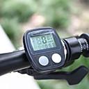ROSWHEEL LCD Waterproof 14 Functions Bike Computer Bicycle Speedometer (Black)